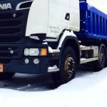 Scania R580 kuljetuskalusto